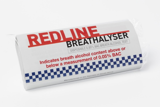 REDLINE Disposable Personal-Use Breathalyser 10 Pack